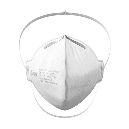 Drager X-plore 1730 FFP3 Unvalved Respirator Mask