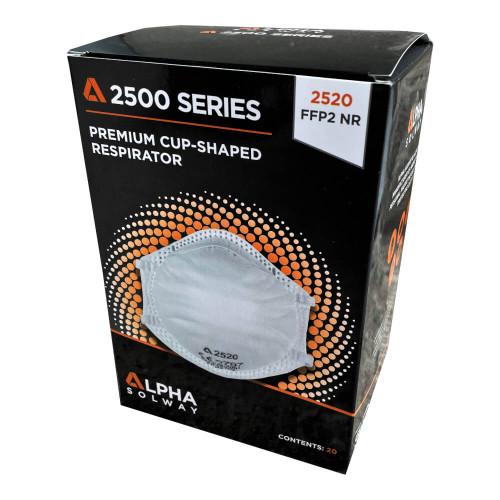 Alpha Solway 2520 FFP2 Face Mask Respirator - Box of 20