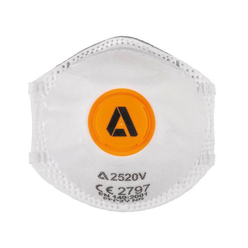 Alpha Solway 2520V FFP2 Valved Face Mask Respirator