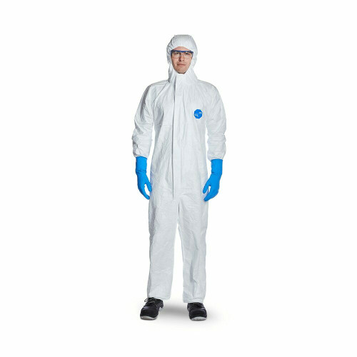 DuPont Tyvek 500 Xpert White Chemical Coverall - Small (S)