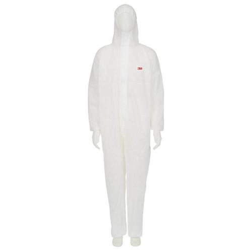 3M White Protective Coverall 4500 - Medium