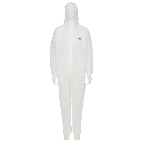 3M White Protective Coverall 4500 - Large