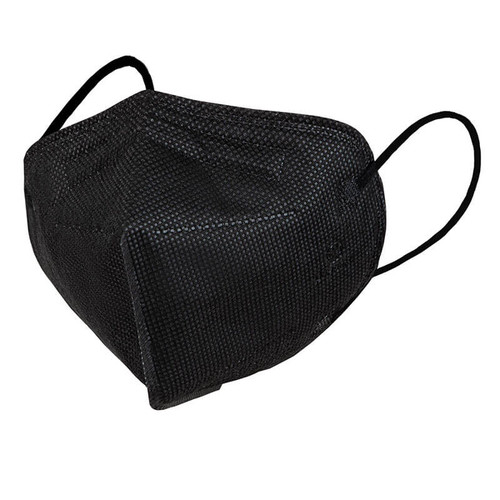 Opharm FFP3 Black Disposable Face Mask with Ear Loops
