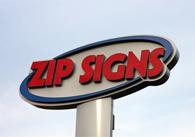 Zip Signs Ltd banner