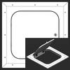 48 x 80 Hinged Radius Corner - Access Panel for Ceilings Best Access Doors Canada