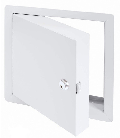 8 x 8 - High Security Fire Rated Insulated Access Door with Flange Best Access Doors Canada
