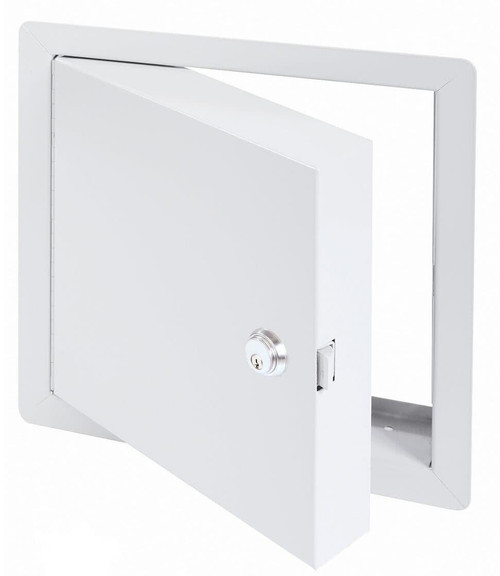 12 x 12 - High Security Fire Rated Insulated Access Door with Flange Best Access Doors Canada
