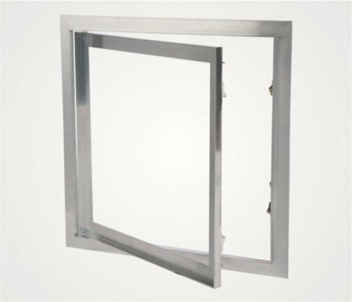 24 x 24 Drywall Inlay Access Panel with fixed hinges Best Access Doors Canada