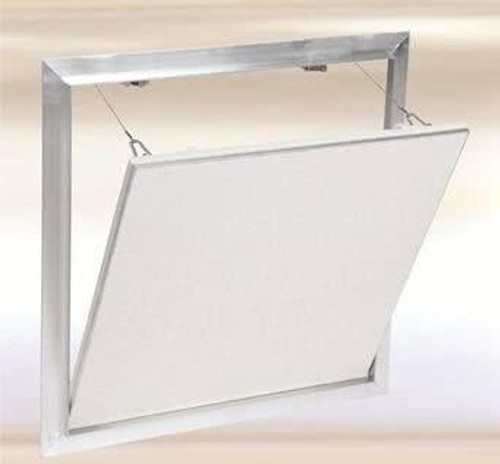 8 x 8 Drywall Inlay Access Panel with Fully Detachable Hatch Best Access Doors Canada