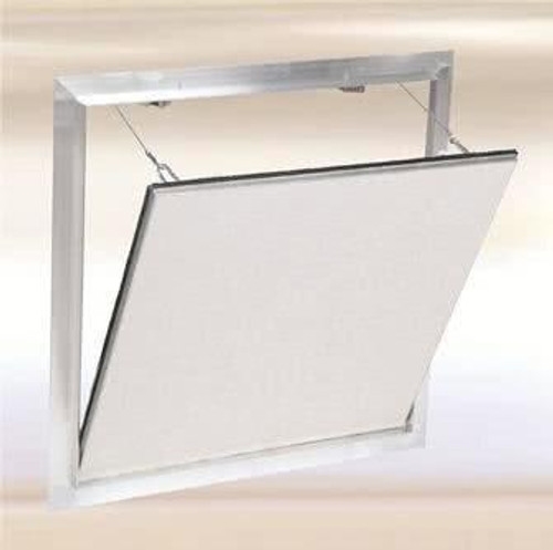12 x 12 Drywall Inlay Air/Dust resistant Access Panel with detachable hatch Best Access Doors Canada
