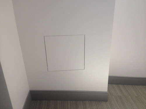 24 x 36 Drywall Inlay Air/Dust resistant Access Panel with detachable hatch Best Access Doors Canada
