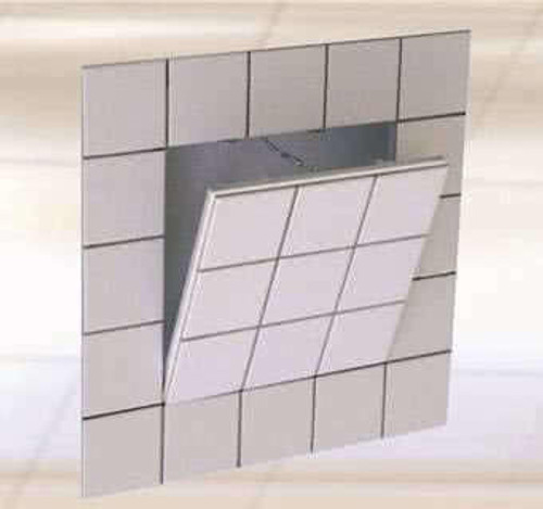 18 x 18 Drywall Inlay Access Panel for Tiling Best Access Doors Canada