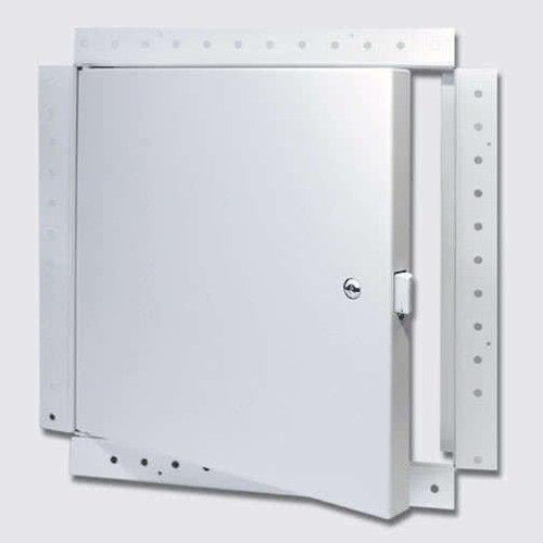 18 x 18 Fire Rated Un-Insulated Access Door with Flange for Drywall Best Access Doors Canada