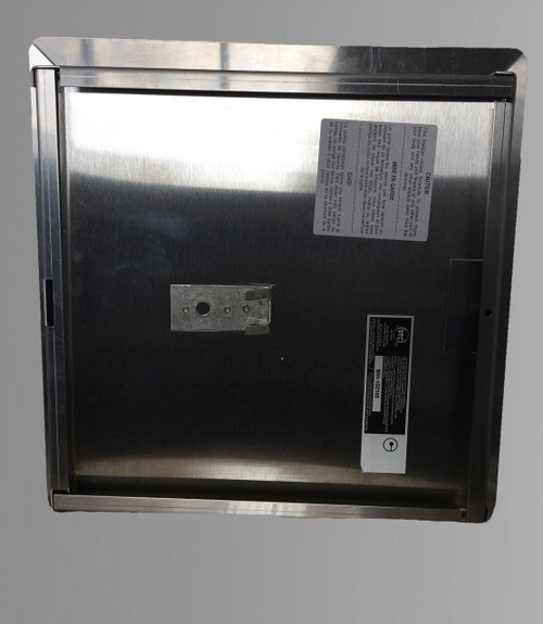 32 x 32 - Fire Rated Insulated Access Door with Flange - Stainless Steel Best Access Doors Canada