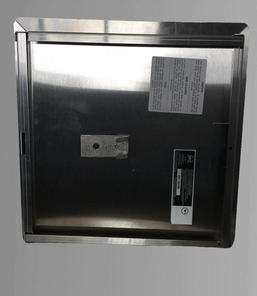 36 x 36 - Fire Rated Insulated Access Door with Flange - Stainless Steel Best Access Doors Canada