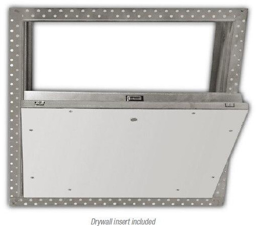 24 x 24 Fire Rated Insulated Recessed Door for Drywall Ceilings Best Access Doors Canada