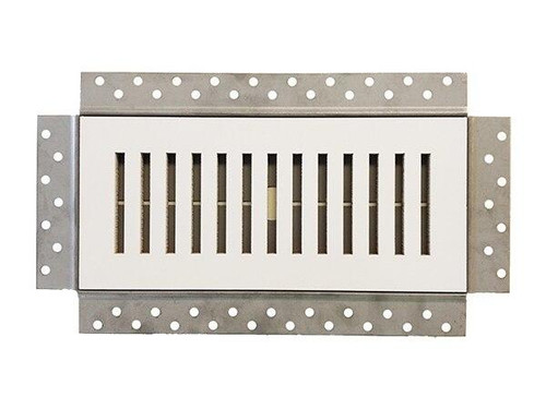 4 x 10 Premium Flush Mounted Vent and Grille Cover - Removable Wall and Ceiling Vent Best Access Doors Canada