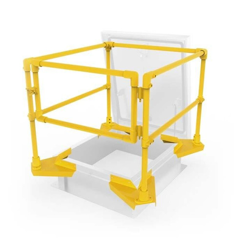 24 x 24 Roof Hatch Safety Rails Best Access Doors Canada