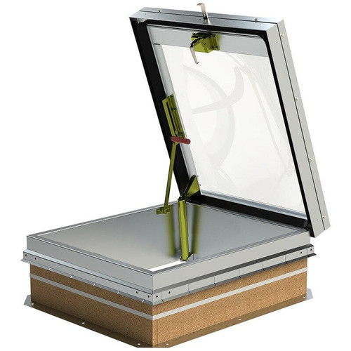 36 x 30 Aluminum Double Domed Roof Hatch Best Access Doors Canada