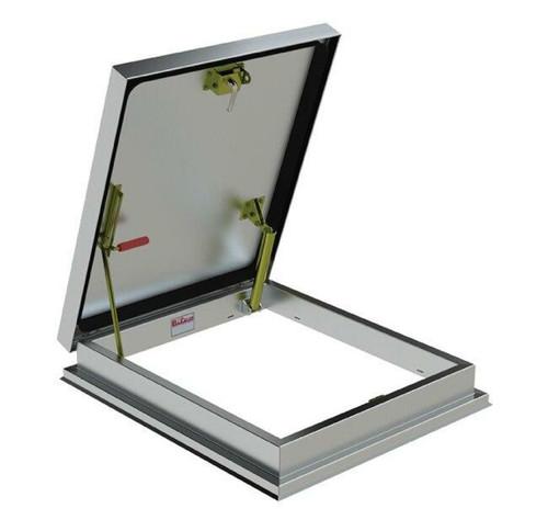 36 x 30 Aluminum Versamount Roof Hatch Best Access Doors Canada