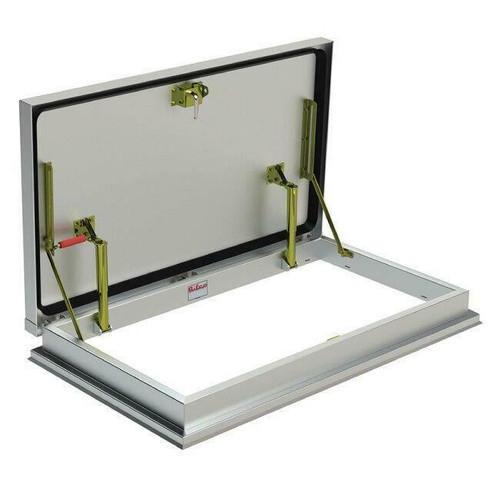 30 x 54 Aluminum Versamount Roof Hatch Best Access Doors Canada