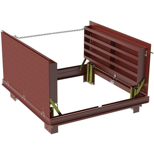 60 x 60 Steel H20 Loading Double Leaf Drainage Floor Door Best Access Doors Canada
