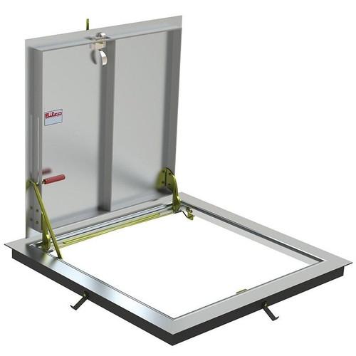 24 x 24 Aluminum Standard Non-Drainage Floor Door Type BA-K Best Access Doors Canada