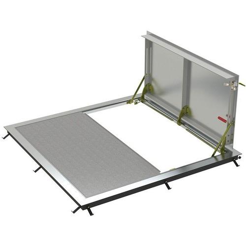 48 x 30 Aluminum Standard Double Leaf Non-Drainage Floor Door Type BA-Q Best Access Doors Canada