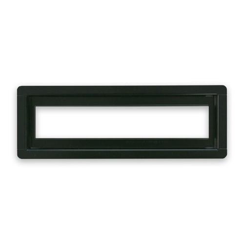 "3"" x 10""  InvisaVent - Standard Black Semi-Gloss Tray Floor Vent | Best Access Doors Canada"