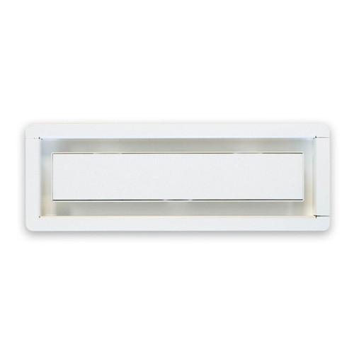 "3"" x 10"" InvisaVent - Standard White Semi-Gloss Tray Floor Vent | Best Access Doors Canada"