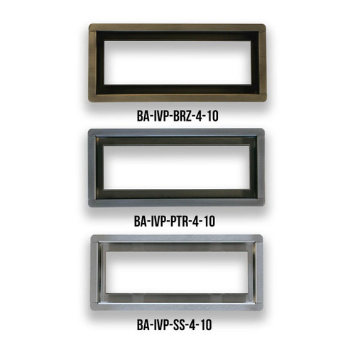 "4"" x 10"" InvisaVent - Premium Floor Vent 