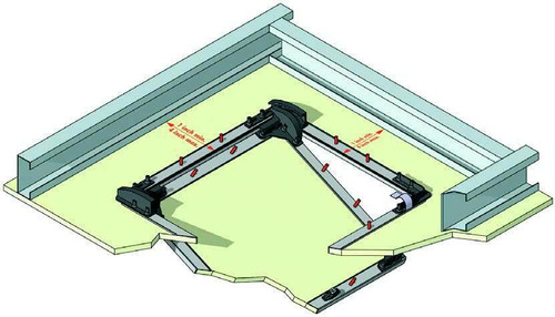 18 x 18 Recessed Access Door for Drywall no studs required - Bauco Best Access Doors Canada
