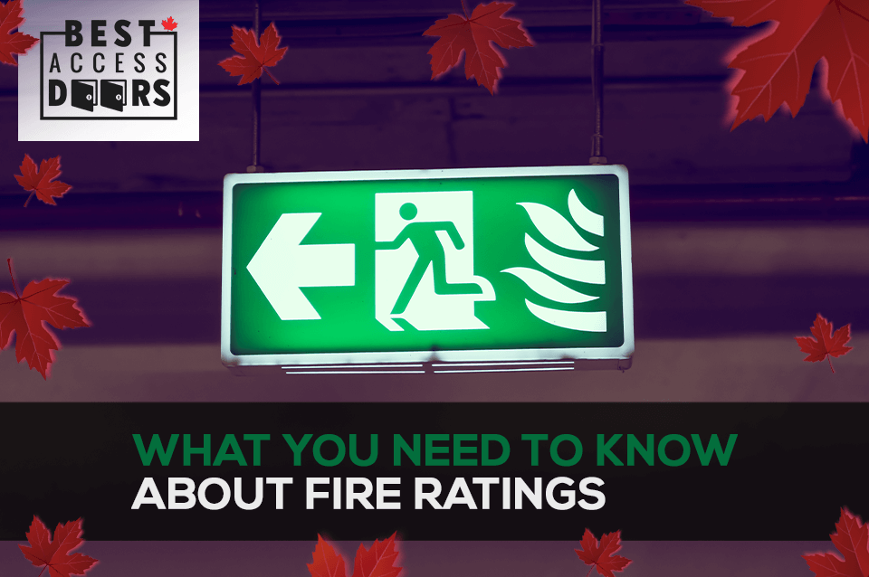 Fire Rated Access Panels – What You Need to Know About Fire Ratings