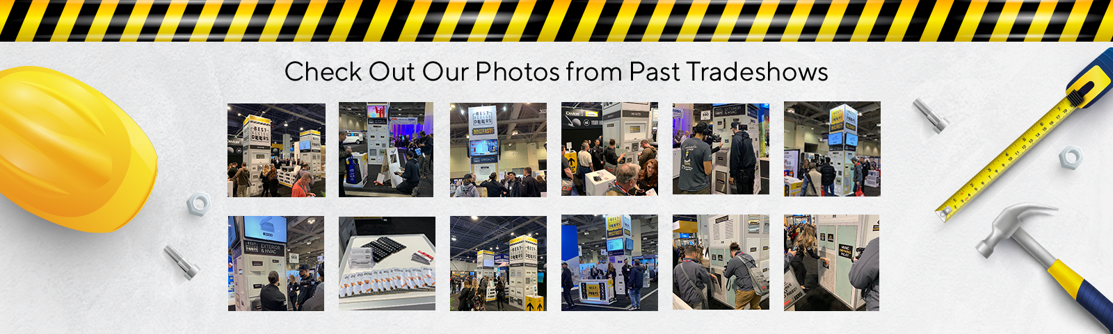 If you want to know what you can expect when you enter Best Access Doors for Buildings Show 2020, check out our past photos!