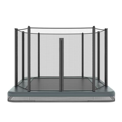 Akrobat In-ground trampoline 11ft x 8ft
