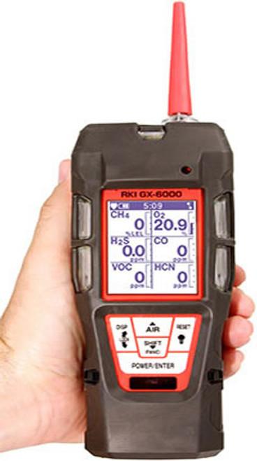 RKI GX-6000 Sample Draw With PID & Super Toxics