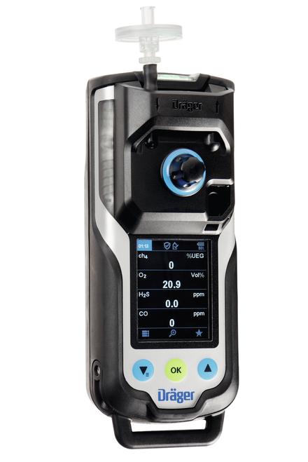 Draeger X-am 8000 Multi-Gas Detector