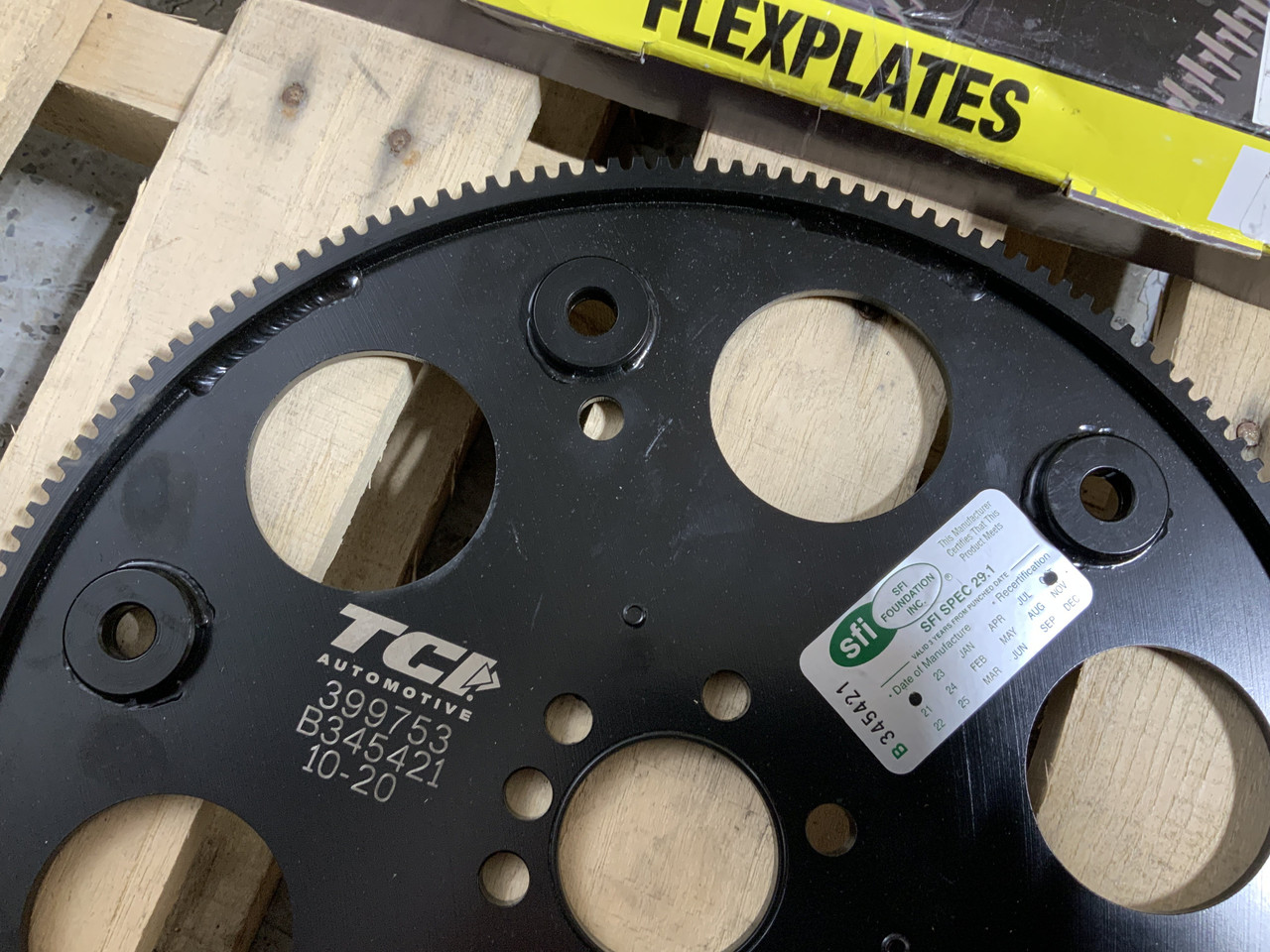 TCI 399753 168 Tooth SFI Flexplate for Chevrolet Gen III IV LS 4.8 5.3 5.7 6.0