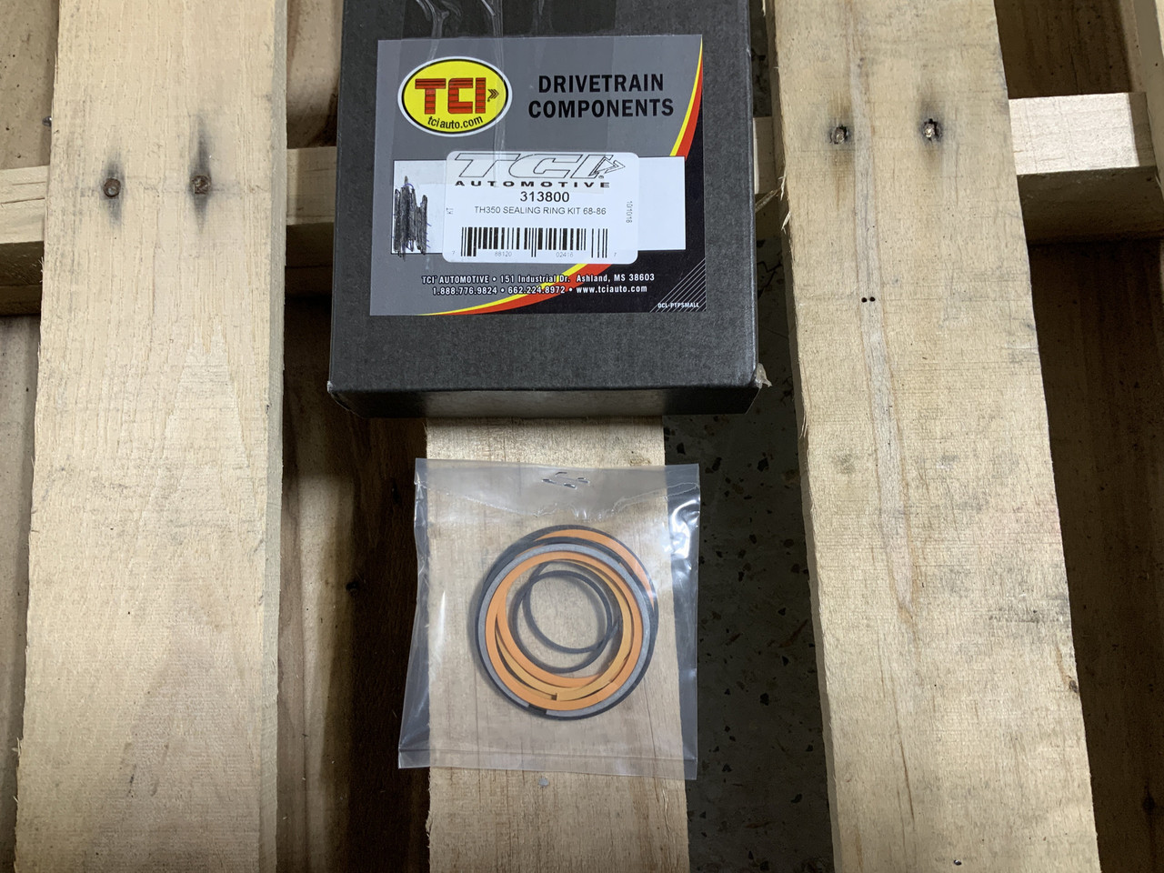 TCI 313800 Transmission Sealing Ring Kit 1986-84 GM TH350