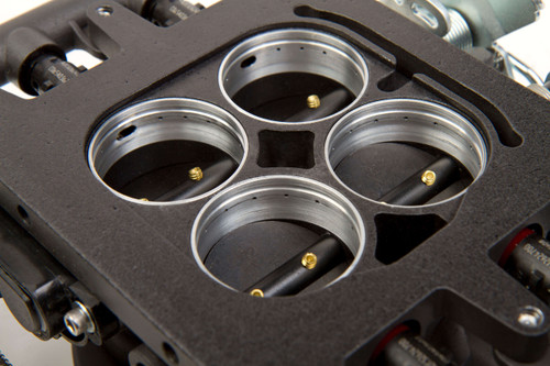 550-406 Holley EFI Terminator EFI 4bbl Throttle Body Fuel Injection System - Hard Core Gray