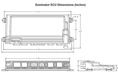 554-114 Holley EFI Dominator EFI ECU