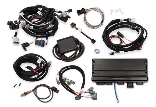 550-918 Holley EFI Terminator X Max LS2/LS3 and Late 58x/4x LS Truck MPFI Kit with Transmission Control