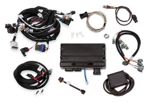 550-905 Holley EFI Terminator X LS2/LS3 and Late 58x/4x LS Truck MPFI Kit