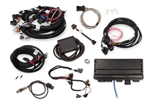 550-930 Holley EFI Terminator X Max Early Truck 24x /1x LS MPFI Kit with DBW Throttle Body Control