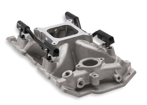 300-260 Holley EFI Holley EFI SBC 4150 Single Plane Fuel Injection Intake Manifold - Chevy Small Block V8