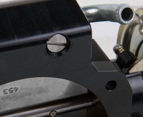 112-585 Holley EFI BILLET 95mm LS Throttle Body w/low RPM Taper