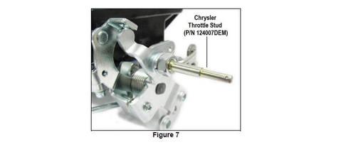 124007DEM Demon Carburetor Throttle Stud