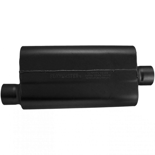 843051 Flowmaster 50 Delta Muffler 409S - 3.00 Offset In / 3.00 Center Out - Moderate Sound