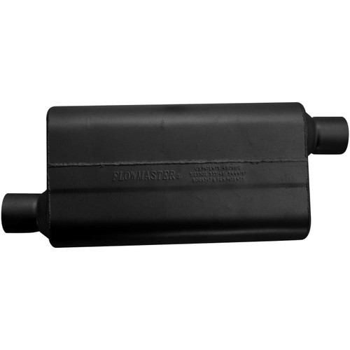 942553 Flowmaster 50 Delta Flow Muffler - 2.50 Offset In / 2.50 Offset Out - Moderate Sound
