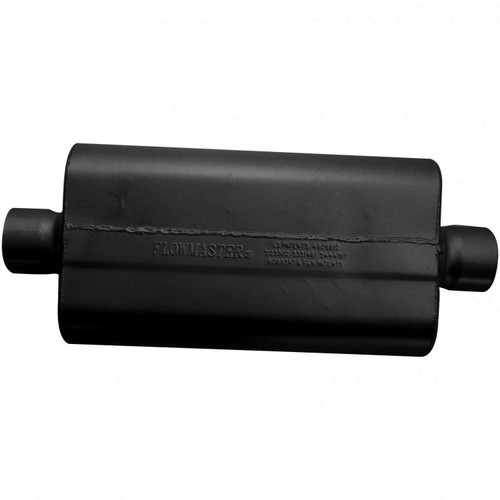 943050 Flowmaster 50 Delta Flow Muffler - 3.00 Center In / 3.00 Center Out - Moderate Sound